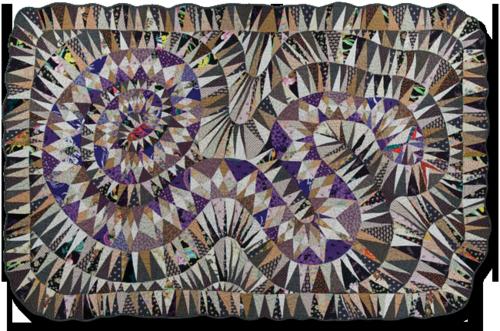 Giddens snake quilt