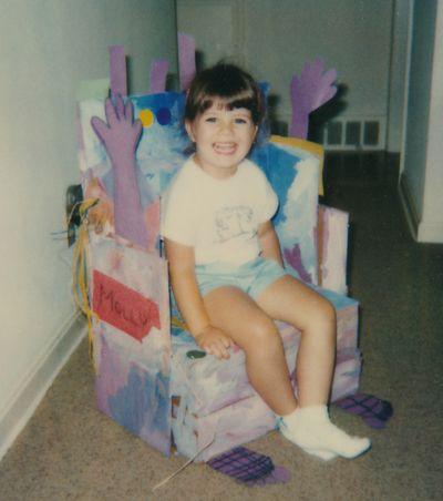 Molly art class chair