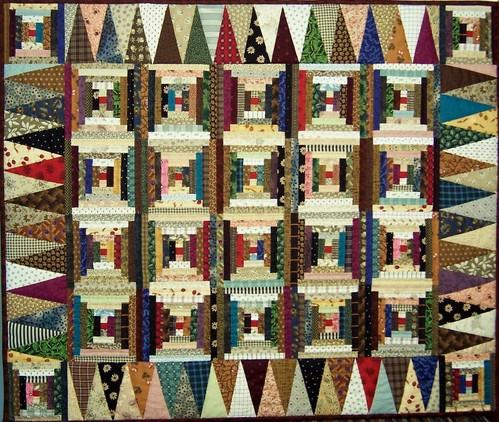 Log Cabin Quilt Patterns | AllPeopleQuilt.com